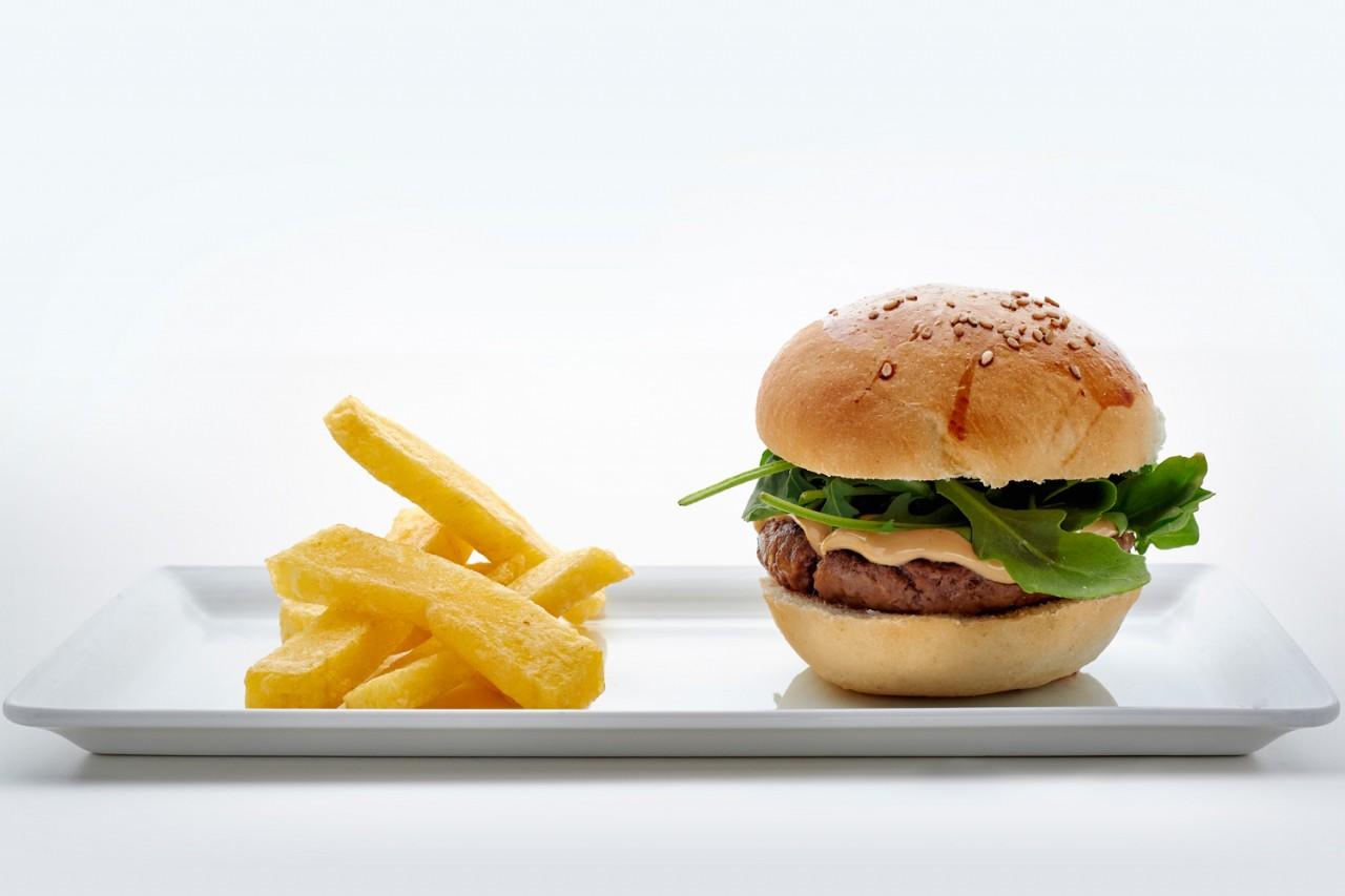 hamburguesa de rabo de toro -