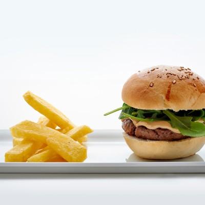 hamburguesa de rabo de toro