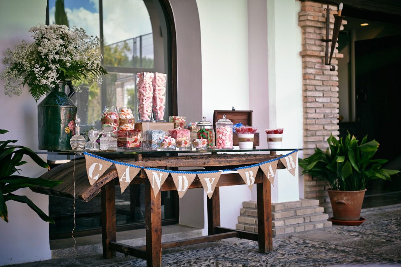 candy bar para bodas -