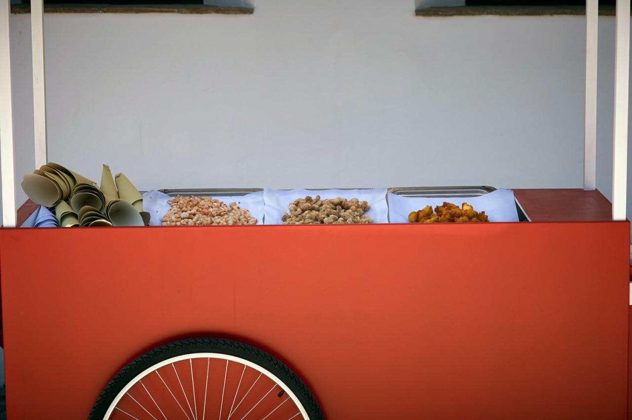 carro de pescaito frito -