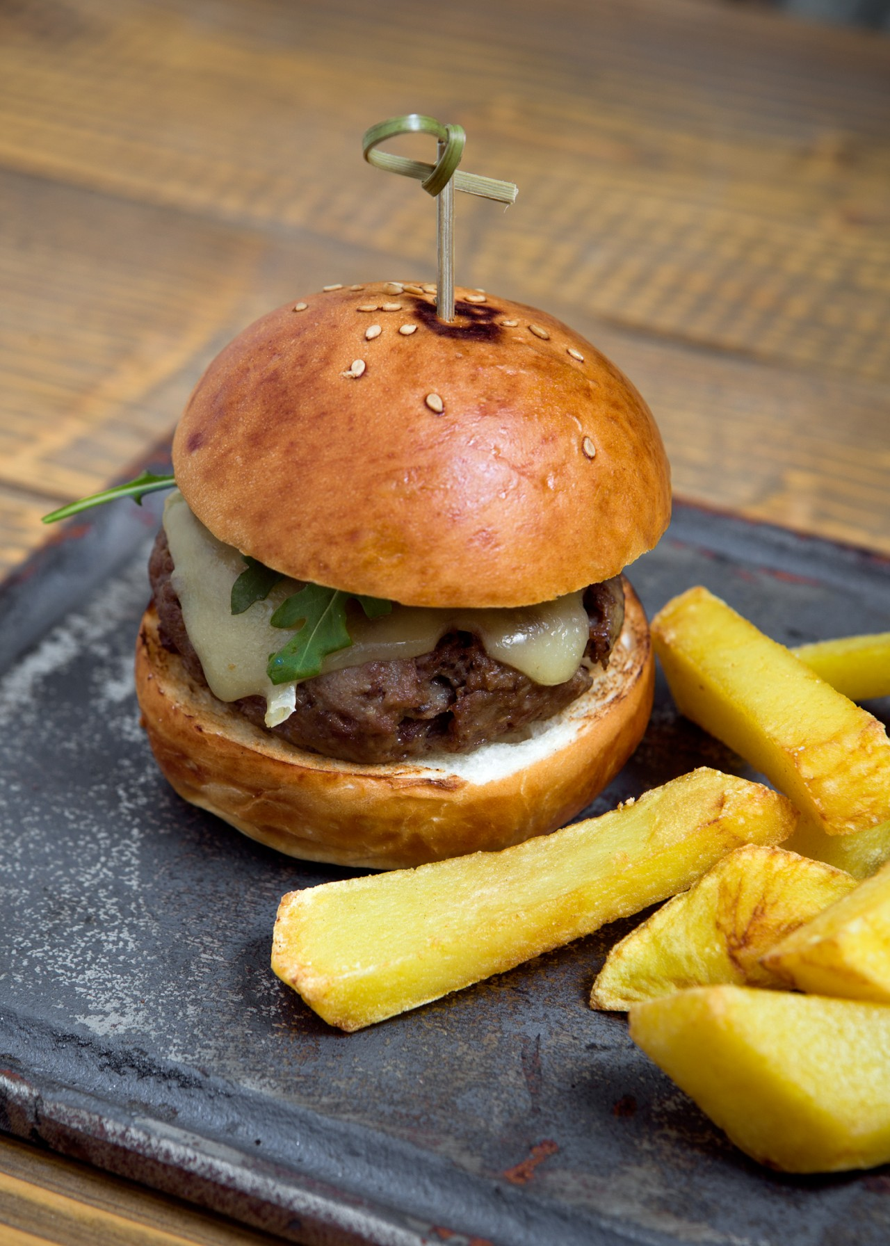 Hamburguesa rabo de toro alameda -