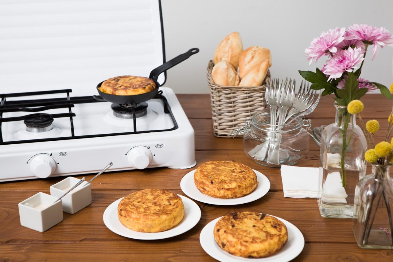 Puesto de tortillas para bodas -