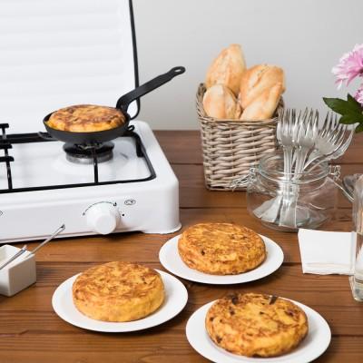 Puesto de tortillas para bodas