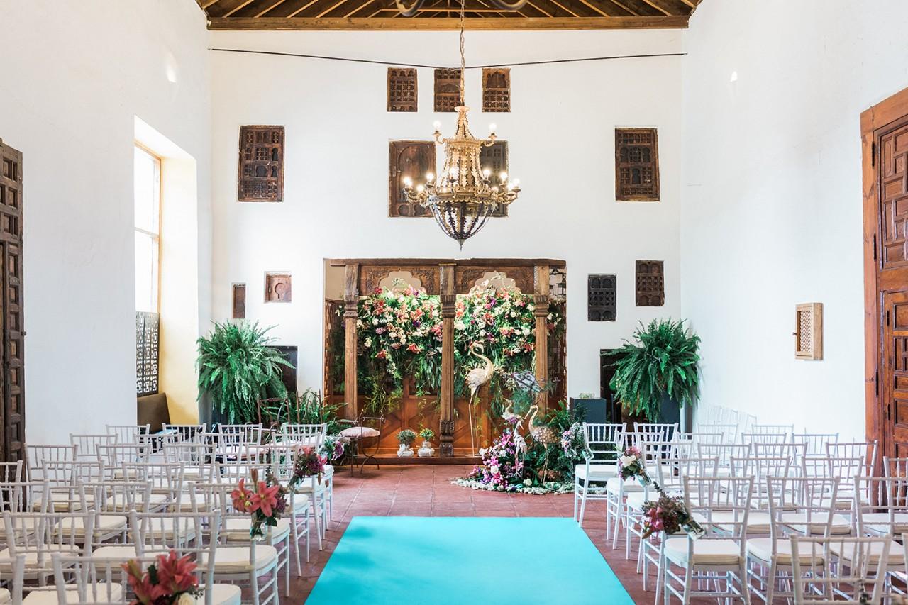 Alameda Catering_Finca Los Ángeles_008 - Fotografía de la finca Los Ángeles. Uno de los espacios singulares del Catering Alameda, donde poder celebrar su boda en Sevilla.