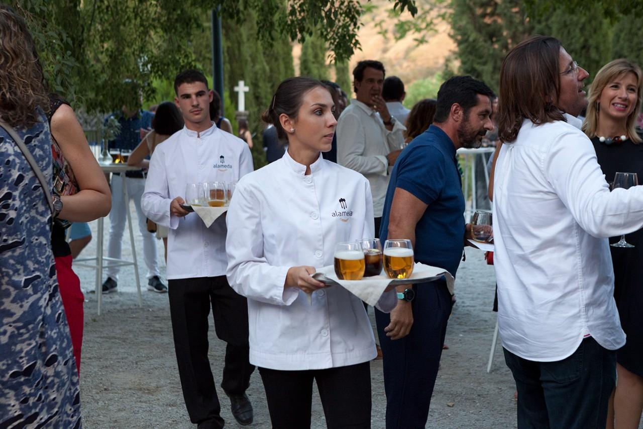 Alameda Catering_Desfile Pilar Dalbat SACROMONTE_02 - Presentación y desfile de la colección SACROMONTE de Pilar Dalbat en la Abadia del Sacromonte de Granada