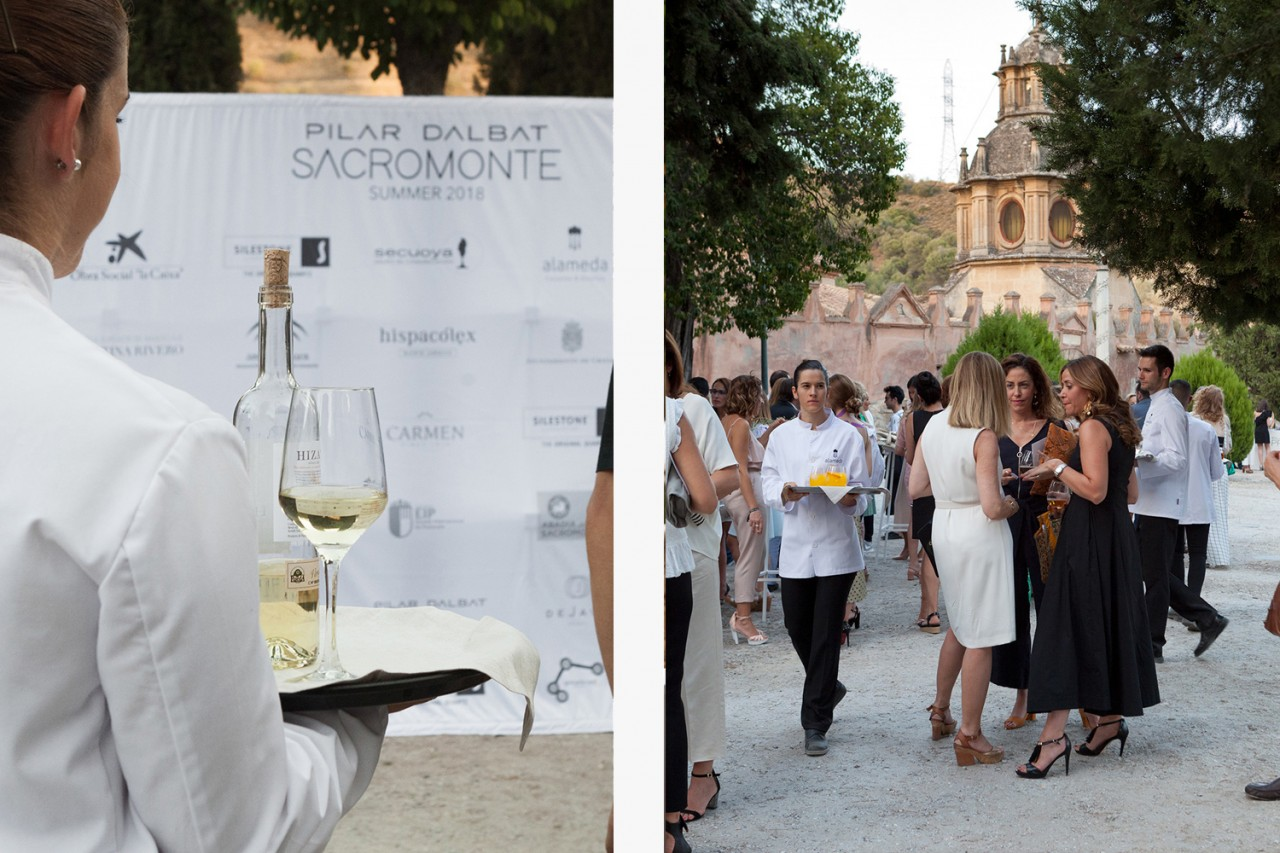 Alameda-Catering_Desfile-Pilar-Dalbat-SACROMONTE_08 - Presentación y desfile de la colección SACROMONTE de Pilar Dalbat en la Abadia del Sacromonte de Granada